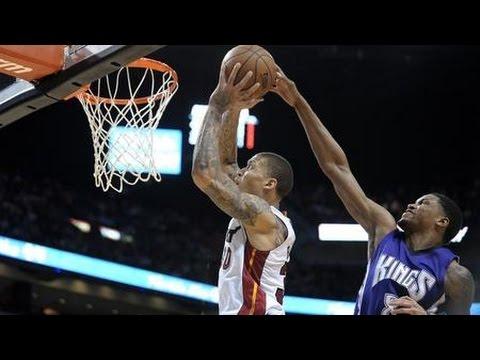 Michael Beasley 18 pts, 7 rebs Full Highlights (Miami Heat X Sacramento Kings) [03.07.2015]