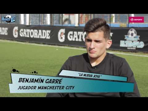 #MundoLeo - Benjamín Garré: Guardiola me dice que lo copie a Messi