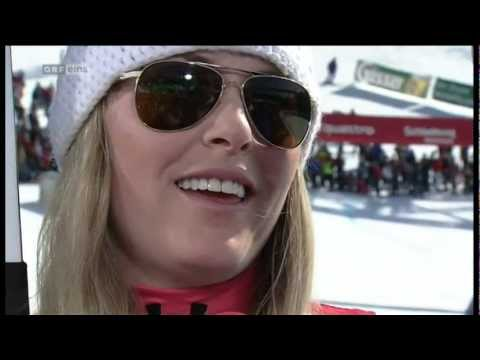 Lindsey Vonn - Ski World Cup 2012 Last Day