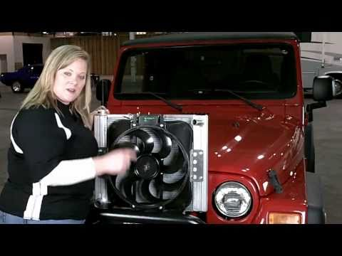 Flex-a-lite 60187 Jeep 87-06 Wrangler Radiator Fan Combo Installation