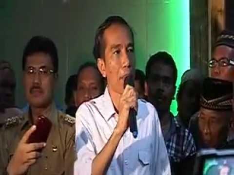 Jokowi:  Penggusuran Kampung Sawah