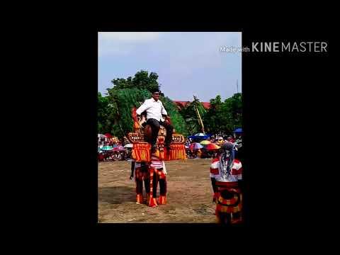 Atraksi Reog Raja Setan (sukmo ngemboro) in ADK