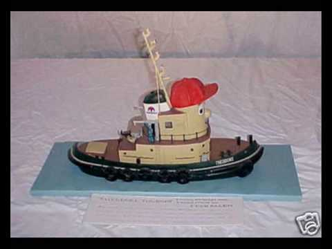 Actual Theodore Tugboat ModelsREALLY How To Save