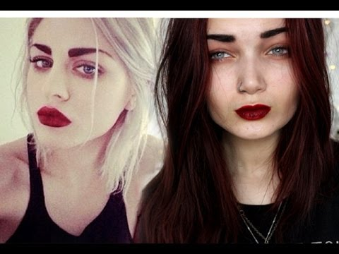 grunge makeup tutorial inspired by frances bean cobain