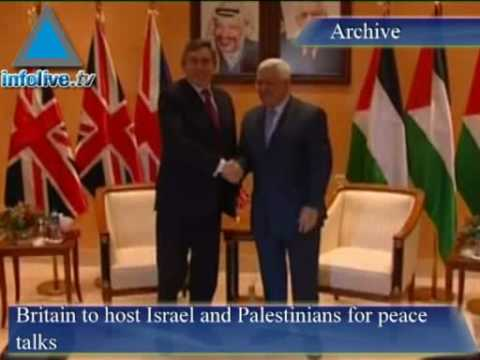 Infolive.tv Headlines - British PM Says Will Host Israel & P