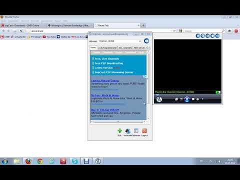 Free Fussball gucken mit Sopcast
