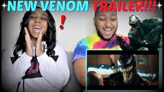 """VENOM"" - Official Trailer REACTION!!!"