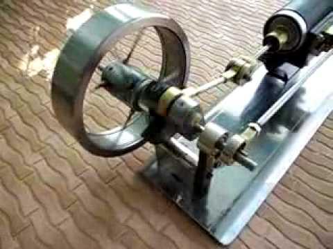 Паровой двигатель своими руками из дверных замков.