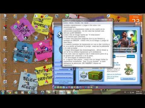 Instalación de Expansiones y Jugar sin problema sin CD - Los Sims 3