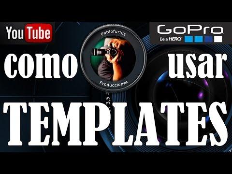 Como editar videos con los Template de GoPro Studio ?   @Pablofurius