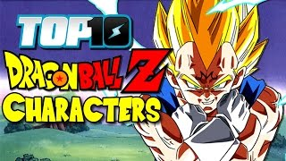 TOP 10 Dragon Ball Characters (DB & DBZ)