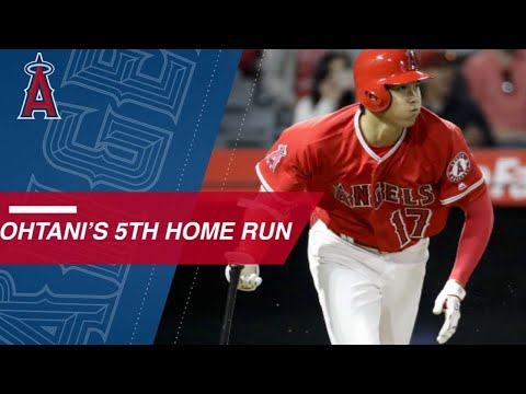 MIN@LAA: Ohtani rips an RBI double and 414-ft. homer