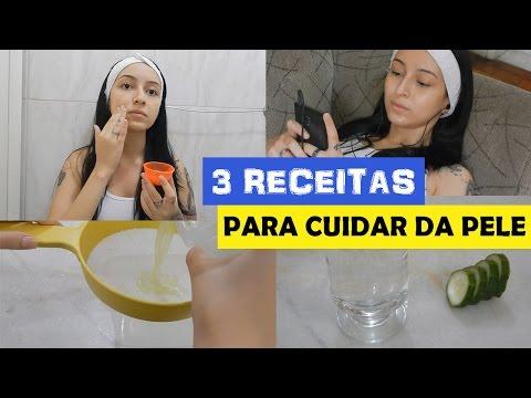 3 receitas CASEIRAS fáceis para cuidar da pele do rosto ♥
