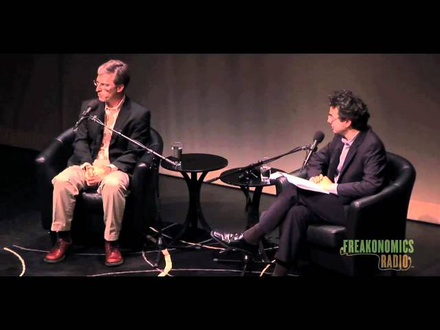 Economists and Prostitutes: Freakonomics Radio Live in St. Paul