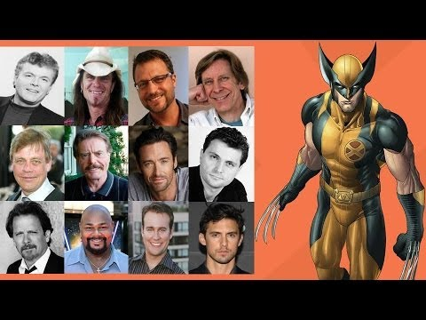 The Voices of Wolverine Who is Your Favorite Wolverine Voice? Who Do You Want To See Next? For More Comparing The Voices - https://www.youtube.com/playlist?list=PLEX-pRIMnN4Dsnye8NVhEzt9d0TaZzeOE...