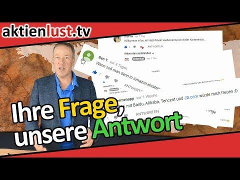 Ihre Fragen, Ihre Wünsche, Ihre aktienlust | Jürgen Schmitt
