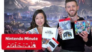 Super Smash Bros. Ultimate ULTIMATE Unboxing! - Nintendo Minute