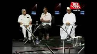 Civil Society Members Vs Govt Representatives [Janlokpal Debate]
