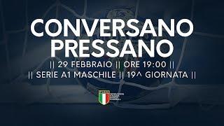 Serie A1M [19^]: Conversano - Pressano 23-21