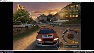 Play! PS2 Win / OSX / iOS /Android Emulator - Gran Turismo 3 Ingame (20170123)