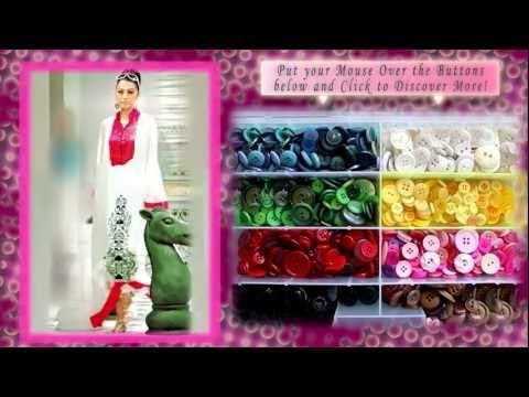 Party Dresses - Indian And Pakistani Clothes Online (boutique Salwar Kameez) video
