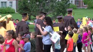 Helena high school seniors prepare for graduation with 'Grad Walk'