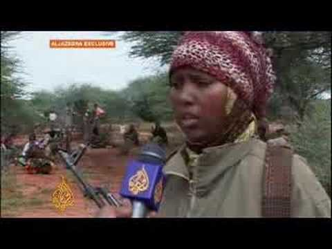 Female fighters in Ogaden region - 16 Apr 08
