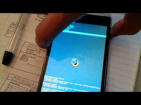ClockworkMod Recovery on LG Optimus G [teaser]