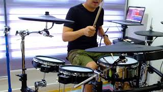 Manhattan - Eric Johnson (Drum Cover) - Roland TD-50K