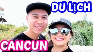 Du Hí Cancun #1: Hotel Room Tour, Ăn Mì Gói, Sushi, Đi Đảo Đua Xe Ăn Hải Sản