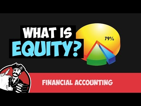 What is Equity (Financial Accounting Tutorial #10)
