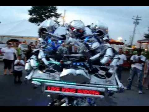 American Got Talent - the Robot Band - NBC 4 2009