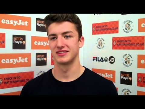 Alex Lacey on signing new contract