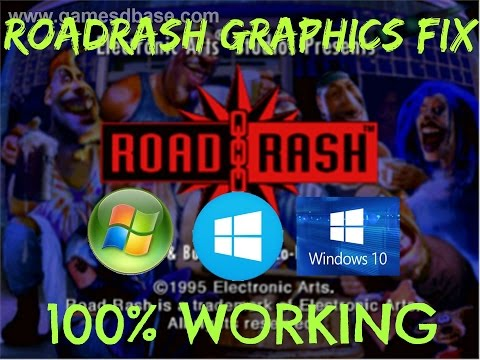 How to run Roadrash on Windows 7/8/8.1/10 without any graphic issues (with download link)