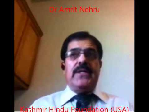 Dr Amrit Nehru - Message to KPs on martyrs day 2014 Pune