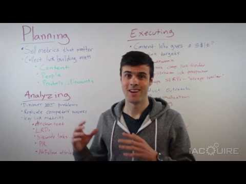 The Link Building Book: Planning & Executing a Campaign - iAcquire Cliffs Notes Tuesday 5.7.13