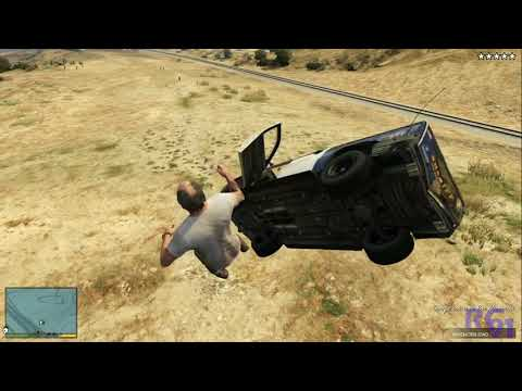 GTA V | Accidentes de tráfico a cámara lenta | EPIC FAILS 9