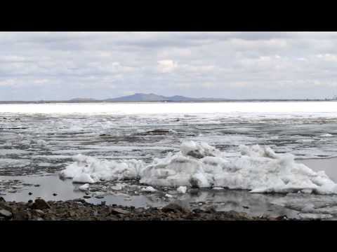 видео ледоход на амуре