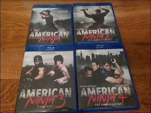 Review   American Ninja Franchise   Olive Films  