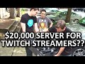 Why would Twitch streamers need a $20,000 server?? N3RDFUSION...