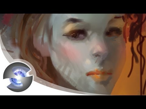 Speedpainting on iPad