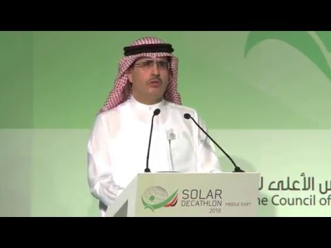 Dubai Supreme Council of Energy & DEWA organise Solar Decathlon ME