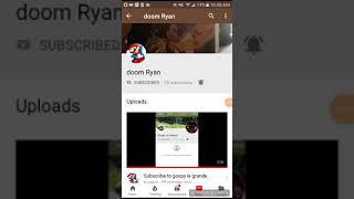Subscribe to doom Ryan