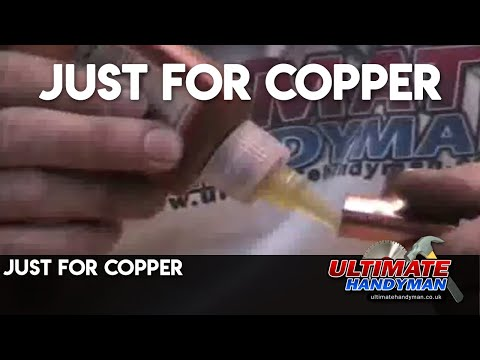 Just for copper