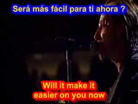 letras u2 en espanol: