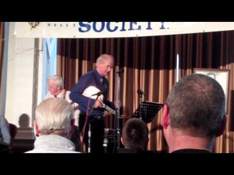 John Walley opens the March 2013 George Formby Society convention