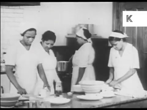 1940s African American Women Learn to Cook and Make Beds
