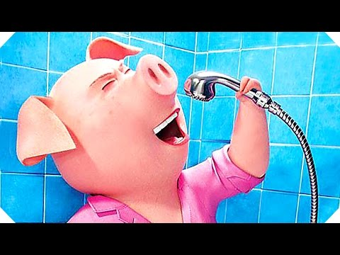 SING : ALL the Movie CLIPS + TRAILERS Compilation ! (Animation Blockbuster, 2016)