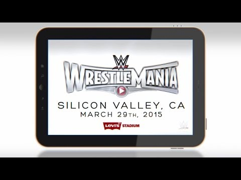 Wrestlemania 31 Comes To Levi's Stadium On March 29, 2015 video