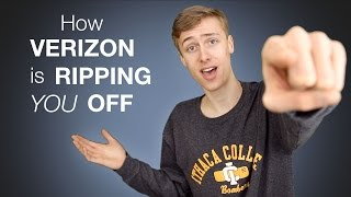 How Verizon Wireless is Ripping You Off | November 2016
